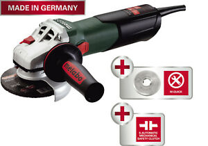 New Metabo W9 115 Quick 4 1 2 Angle Grinder