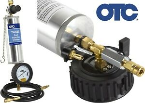 Otc Tools 7448a Fuel Injection Cleaner Canister Tool With Gauge New Free Ship