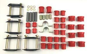 Suzuki Samurai Complete Polyurethane Suspension Leaf Spring Bushing Kit
