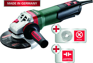 New Metabo Wpb12 150 Quick 6 Angle Grinder W brake
