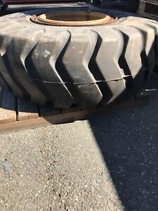 20 5 25 Loader dozer Tire And Wheel New Tire Used Wheel Rock Service
