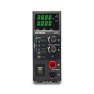 Extech Dcp36 Single Output Switching Dc Power Supply 0 5 To 36v 80w