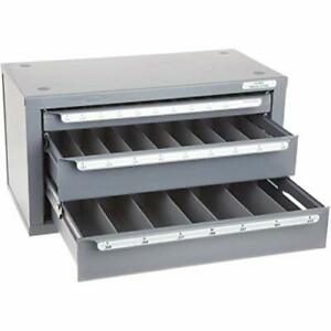 Huot 13050 Three drawer Drill Bit Dispenser Cabinet For Letter Sizes A To Z