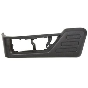 Left Driver Seat Cushion Trim Panel Black For 08 10 Ford F250 F350 Super Duty