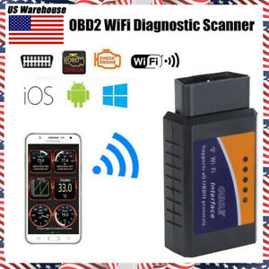 Obd2 Obdii Elm327 Wifi Car Diagnostic Scanner Code Reader Tool For Ios