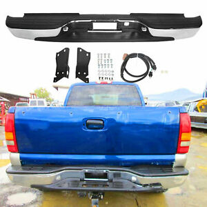 Rear Step Bumper Chrome Styleside For Chevy Silverado 2500 Hd 3500 1999 2007