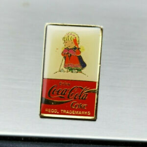 Coca cola pin badge