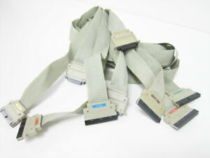 Hp Probe Cable Lot 1 2 3 4 5 6 Logic Analyzer 16500a 16500b 16500c Module