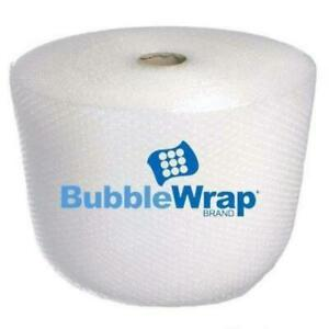 Bubble Wrap 1 000 Ft X 12 Small Bubble 3 16 Perforated 12 W Core 8 Rolls