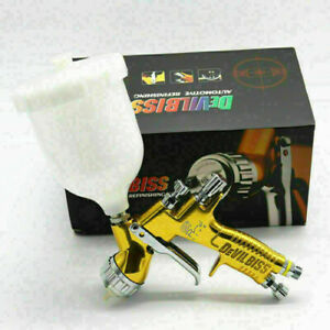 Devilbiss Gti Pro Lite Gold 1 4mm Nozzle Te20 Car Paint Tool Pistol Spray Gun