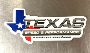 Texas Speed Performance Racing Contingency Decal Sticker