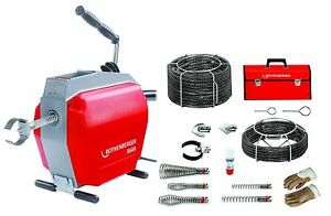 Rothenberger R600 Drain Cleaning Machine With Accessories 72676