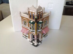 Dept 56 Coca Cola Corner Drugstore Snow Village Retired