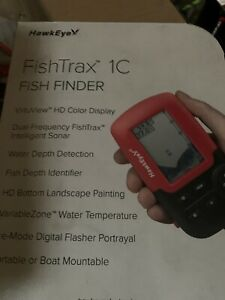 Hawkeye Fishtrax Color Portable Fishfinder #FT1PXC