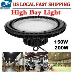 Work Lamp Ufo Led High Bay Light 100w Factory Warehouse Lighting Industrial Gym