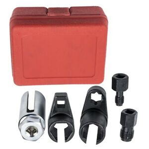 Oxygen Sensor Socket O2 Thread Chaser Installer Wrench Vacuum Extract Removal