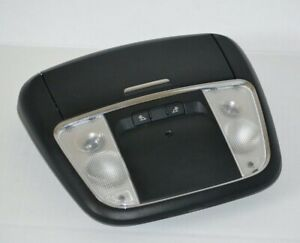 2011 2012 2013 2014 Chrysler 300 Roof Overhead Console Map Dome Light Black Oem
