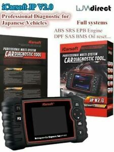 New For Toyota Professional Multi System Diagnostic Scan Tool Icarsoft Jp V2 0
