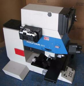 Reichert Jung Polyvar Sc 300901 Wafer Inspection Microscope Station 3120
