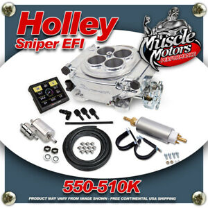 Holley Sniper Efi 550 510k Self Tuning Fuel Injection Complete Master Kit