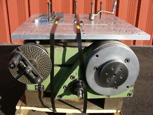 Walter Rts 500g 20 Tilting Rotary Table 4th Axis Horizontal Cnc Indexer Germany