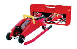 Torin Big Red Hydraulic Trolley Floor Jack With Carrying Case 2 Ton Capacity