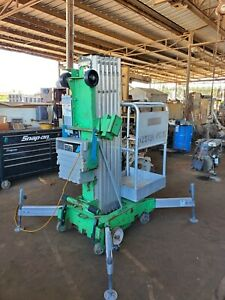 2011 Genie Awp 30s Super Series Aerial Lift ready To Work manlift Electric