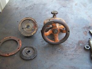 Brown And Sharpe 13 Grinder Lift Wheel Gears And Lead Screw