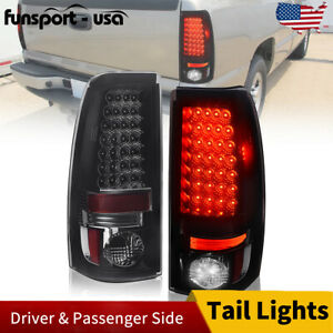 Led Tail Lights For 2003 2007 Chevy Silverado 1999 03 Gmc Sierra 1500 2500 3500