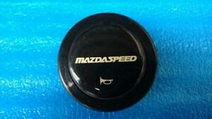 Mazdaspeed Horn Button Rare Steering Wheel Jdm Rx7 Mx5 Fc3s Fd3s Re 13b Black