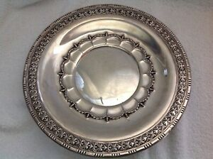 Wallace Sterling Silver 10 5 Charger Plate 4382 9