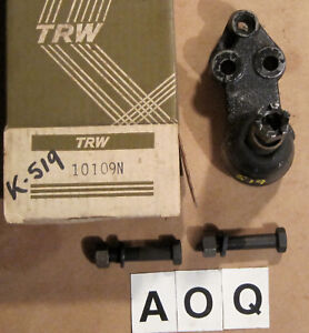 1960 Oldsmobile Lower Right Ball Joint Gm Part 578124 K 519 Trw 10109