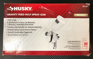 Husky Gravity Feed Hvlp Spray Gun 40 Psi Max