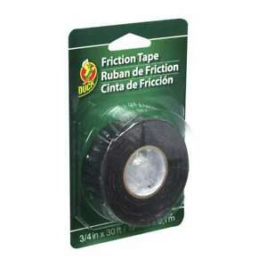 Duck Brand Friction Tape 3 4 In X 30 Ft black
