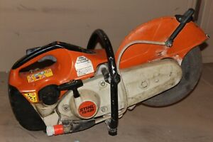 Stihl Ts 420 Low Hour All Original Clean Straight Saw W h20 Hook Up
