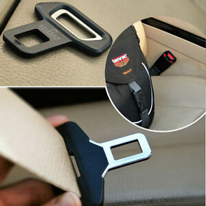 Car Interior Safety Seat Belt Buckle Insert Remove Warning Alarm Stopper opener