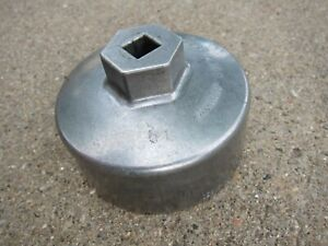 Hazet Germany 2169 Oil Filter Wrench 74 4mm 14 Point Mercedes excellent Conditio