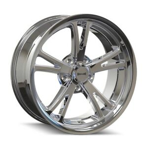 Ridler 606 Rim 18x9 5 5x120 65 Offset 0 Chrome Quantity Of 4