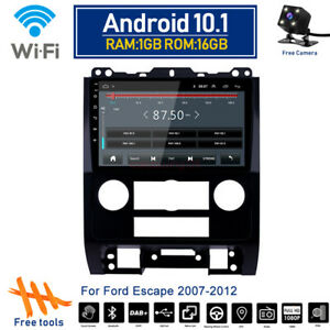 Android 10 1 Gps Navi Stereo Radio Wifi Car Dvd Player For Ford Escape 2007 2012