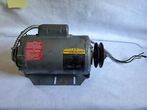 Rl1324a 3 4 Hp 1725 Rpm Baldor Reliancer Industrial Electric Motor Pulley