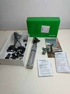Welch Allyn Diagnostic Set 25000 21700 Opthalmoscope veterinary And Accessories