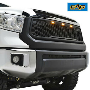 Eag Replacement Raptor Front Grill Led Upper Grille Fits Toyota Tundra 2014 2020