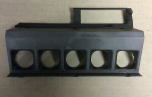 Jeep Wrangler Yj 87 95 Grey Center Dash Bezel Cover Free Shipping