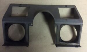 1987 95 Jeep Yj Wrangler Steering Wheel Dash Bezel Cover Dark Gray