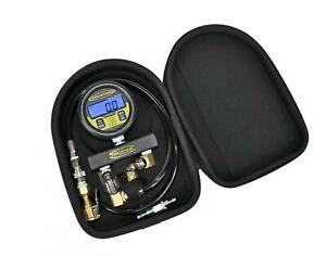 Digital Tire Pressure Test Gauge 100 Psi 2 5 Inch Gauge W case Power Tank