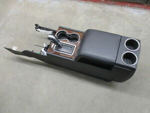 2015 2016 2017 Lincoln Navigator Floor Center Console Assembly W Shifter Oem