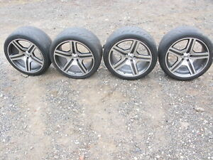 Audi Rs4 Convertible 2007 2008 19 Wheel Rim Wheels Rims 19 X 9 1 2 Set S4
