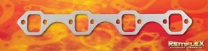 Remflex 3028 Exhaust Header Gasket Ford Small Block Afr gt40 Head 1 1 4 X1 5 8