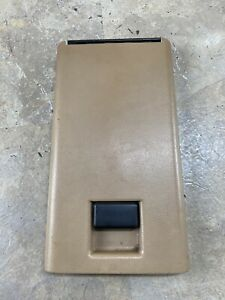 83 01 Ford Bronco Ii Ranger Explorer Center Console Lid Only Tan Oem Rare Read