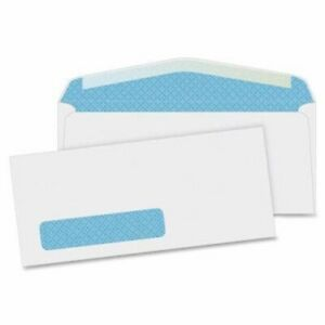 Business Source Security Window Envelopes 500 Per Box bsn42205